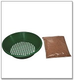 Sift Tray and Dry Media
