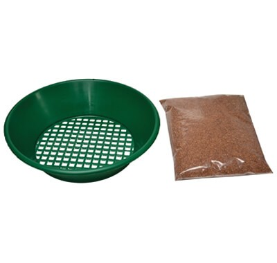 Sifter Tray and Cleaning Media keep your coins/tokens like new