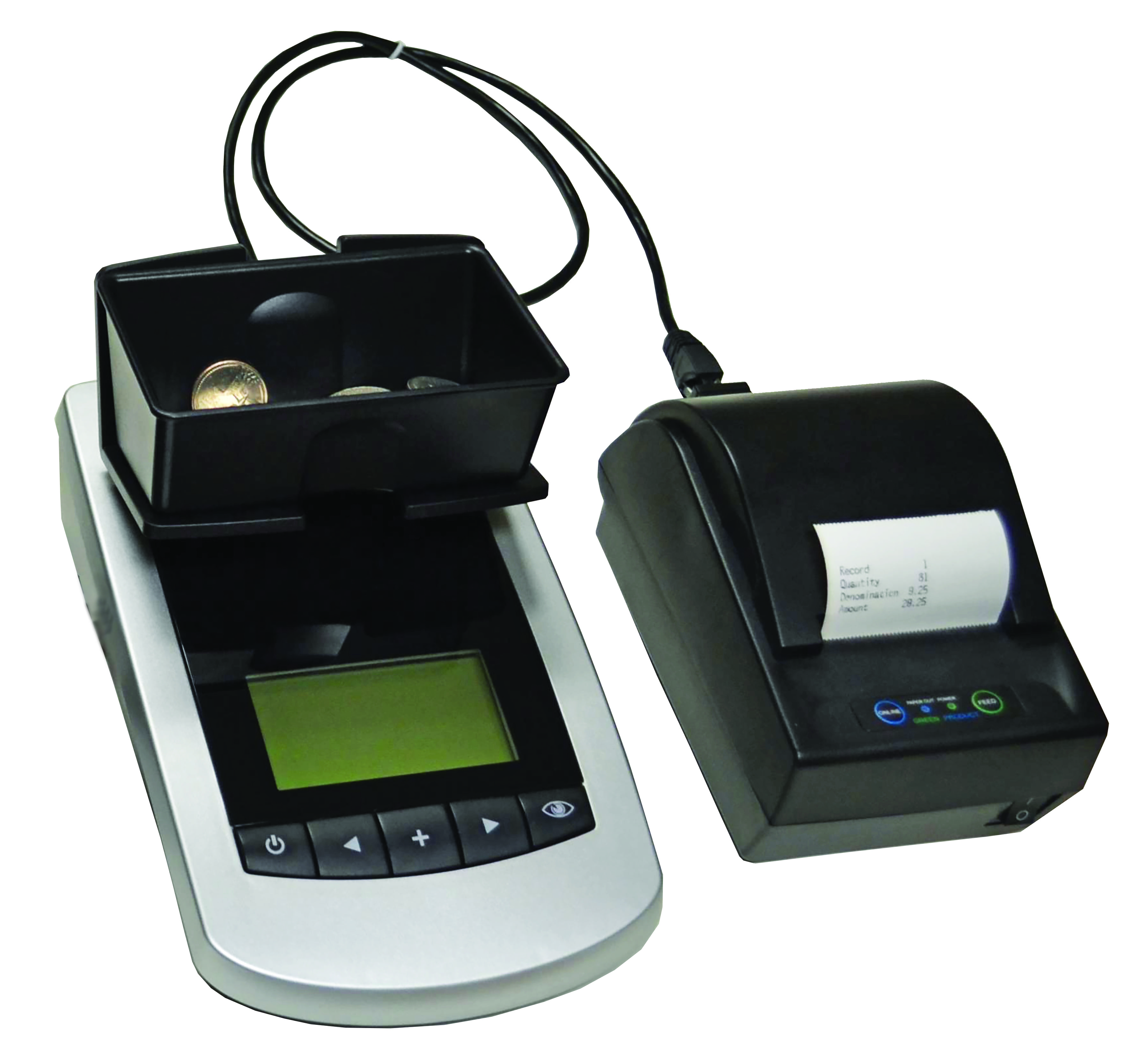 MCS-1000: Money Counting Scale & Optional Printer