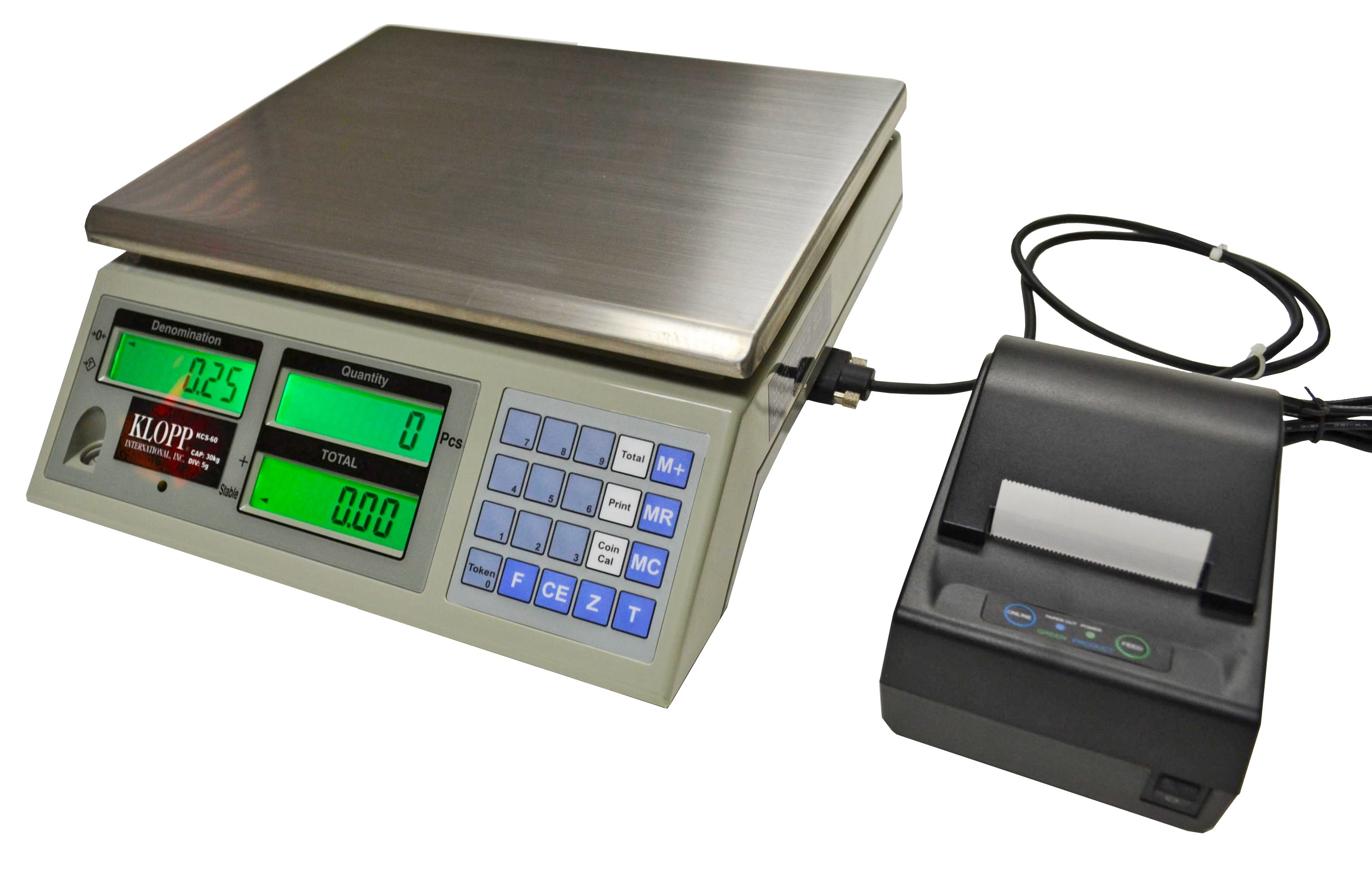 KCS Series Coin Scales