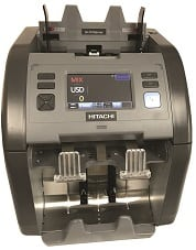 Hitachi IH110 Currency Sorter with Counterfeit Detection