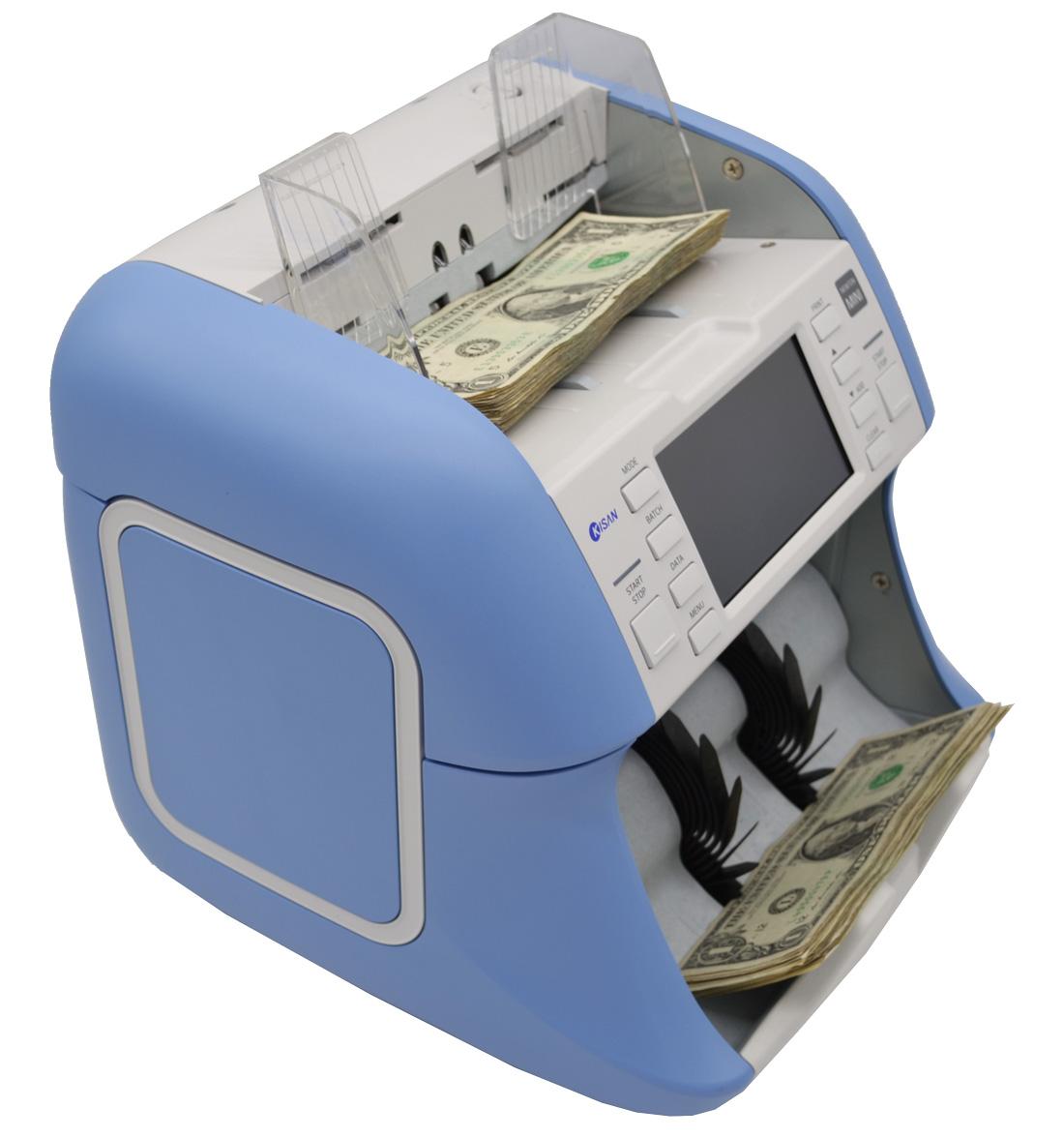 Kisan Newton Mini Dual CIS Currency Counter