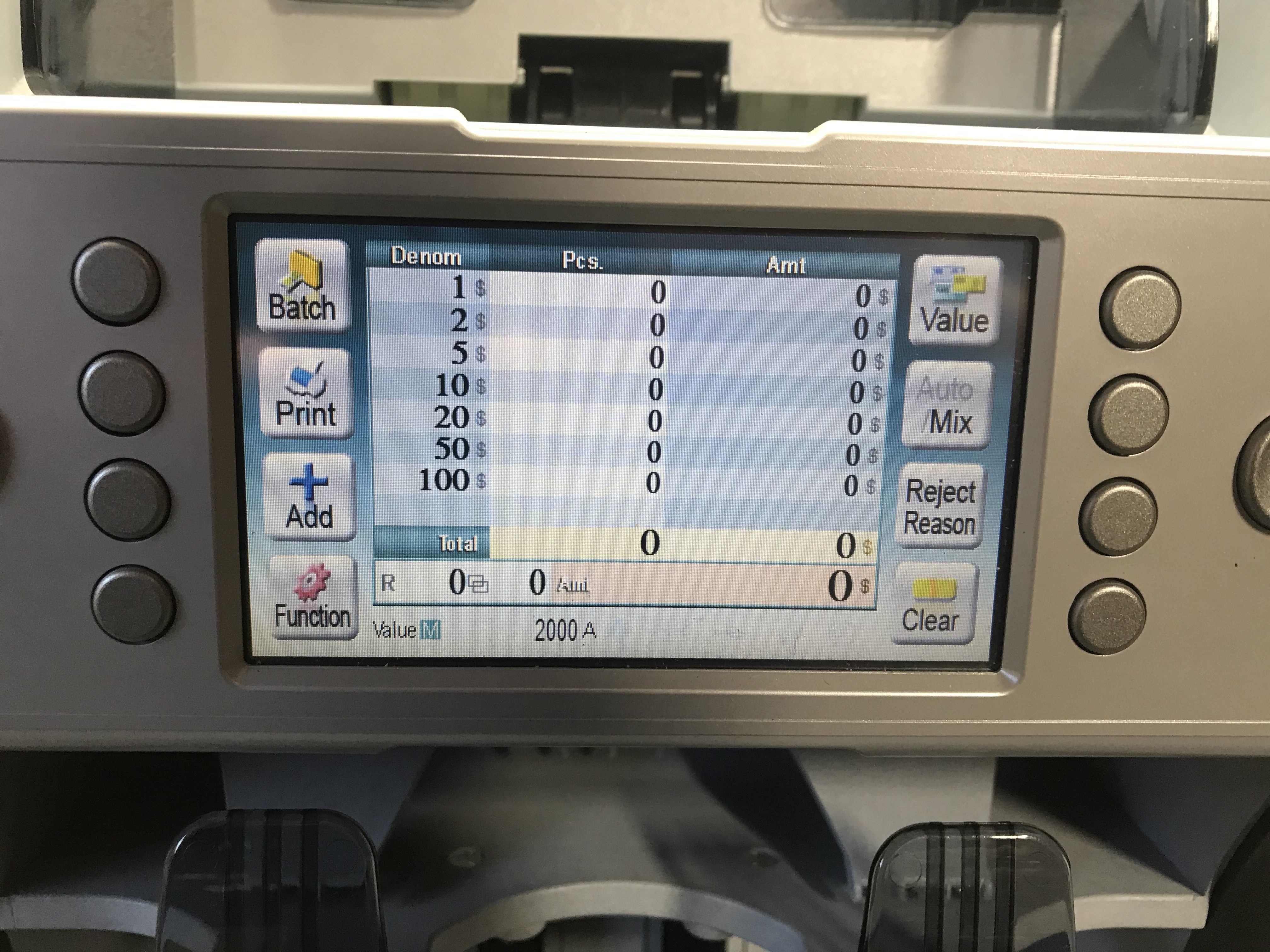 Like Systems LC 20 2 pocket Currency Discriminator