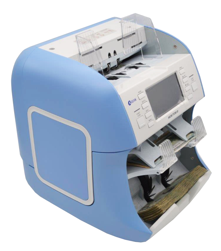 Kisan Newton 3F 2-pocket Currency Fitness Sorter (money not included)